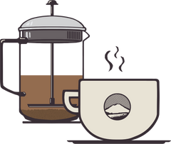 French Press Coffee Brewing Guide Step 13 - Picacho Coffee Roasters