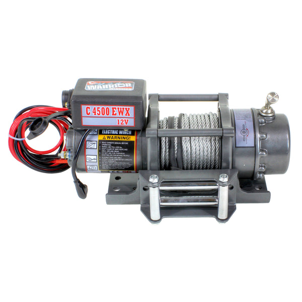 Warrior EWX 4500LB 12V Electric Winch
