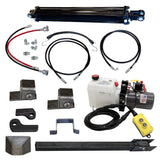 "Direct Push Lift Kit, w/ Single 3.5""X30"" Cylinder"