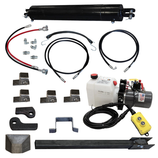 "Direct Push Lift Kit, w/ Single 5""X30"" Cylinder"