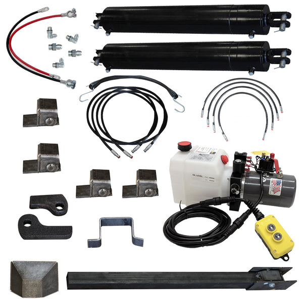 "Direct Push Lift Kit, w/ Dual 5""X30"" Cylinders"