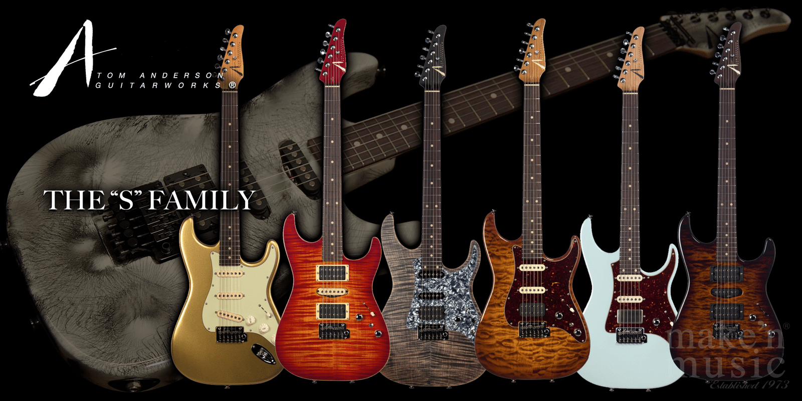 Tom Anderson S Family Guitars
