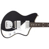 Eastwood Guitars Jeff Senn Model One Black Closeup