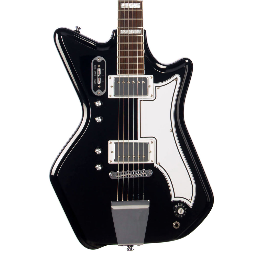 Airline Guitars '59 2P - Black - Vintage Reissue Electric Guitar - NEW!
