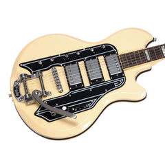 Airline Guitars '59 Town & Country DLX - Vintage Cream - Deluxe Reissue Electric Guitar - NEW!