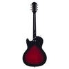 Airline Guitars Jupiter Redburst - Silvertone Tribute Hollowbody Electric Guitar - NEW!