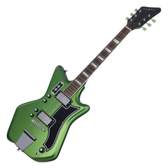 Airline Guitars '59 2P - Satin Candy Green - Vintage Reissue Electric Guitar - NEW!