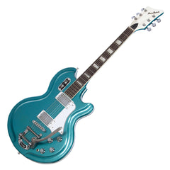 Airline Guitars '59 Coronado - Metallic Blue - Vintage Reissue Electric Guitar - NEW!