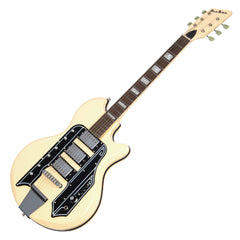 Airline Guitars '59 Town & Country STD - Vintage Cream - Reissue Electric Guitar - NEW!