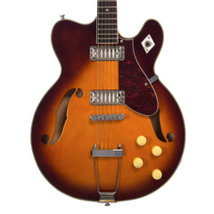 Airline Guitars H74 STD - Honeyburst - Vintage Reissue Semi Hollow Electric Guitar - NEW!