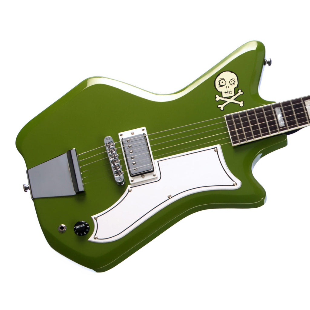 Airline Guitars Jetsons Jr - Ghoulie Green - electric guitar - NEW!