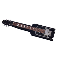 Airline Guitars Lap Steel Pro - Black - Vintage National-inspired with Valco pickup - NEW!