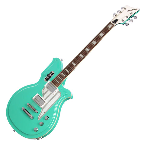 "Airline Guitars MAP Baritone - Seafoam Green - 27"" Scale Electric Guitar - NEW!"