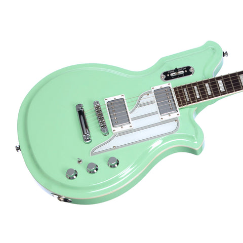 Airline Guitars MAP Colin Newman Signature - Seafoam Green - Signature Model Electric Guitar with Piezo Pickup - NEW!