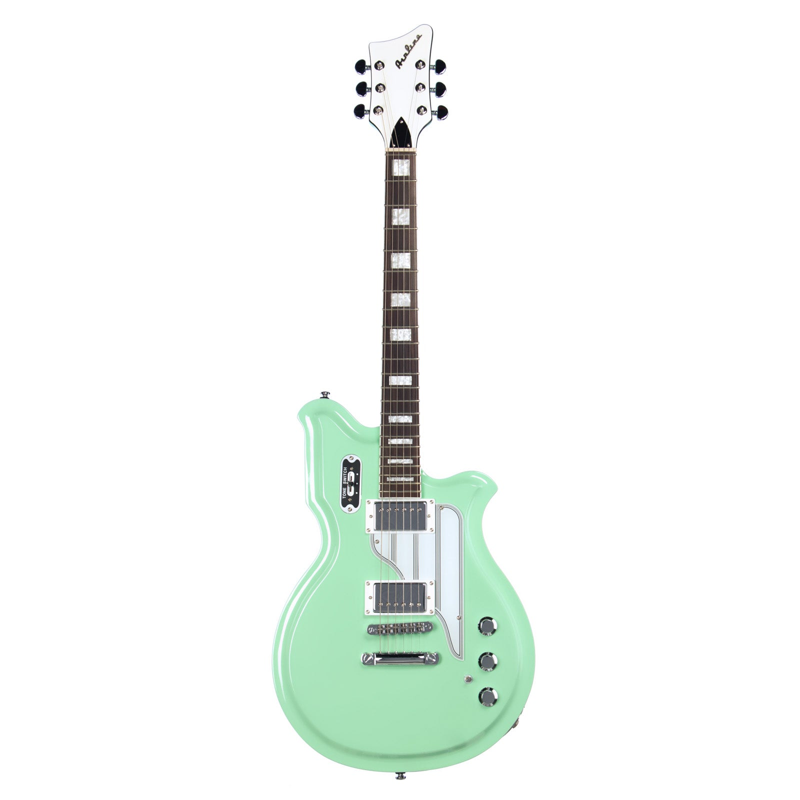 Airline Guitars MAP Colin Newman Signature Seafoam Green