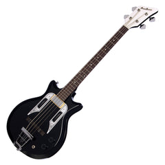 Airline Guitars Pocket Bass - Black - Vintage Reissue electric bass guitar - NEW!