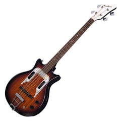 Airline Guitars Pocket Bass - Sunburst - Vintage Reissue electric bass guitar - NEW!