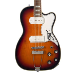 Airline Guitars Tuxedo - Sunburst - Hollowbody Vintage Reissue Electric Guitar - NEW!
