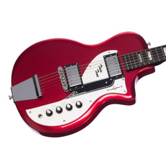 Airline Guitars Twin Tone - Metallic Red - Supro Dual Tone Tribute Electric Guitar - NEW!