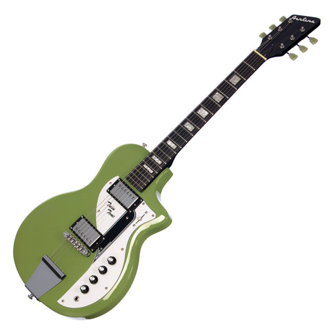 Airline Guitars Twin Tone - Vintage Mint Green - Supro Dual Tone Tribute Electric Guitar - NEW!