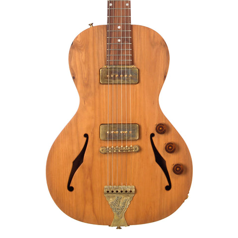 "B&G Guitars Private Build Little Sister Cedar of Lebanon - ""Whiskey Barrel"" Hand Rubbed Shellac - Custom Boutique Hand-Made Electric Guitar"