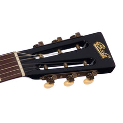 B&G Guitars Little Sister Crossroads Cutaway P90 - Midnight Ocean - LS-C-P-MO - Black Semi-Hollow Electric Guitar - NEW!