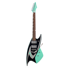 Backlund Guitars Model 400 DLX - Teal - Deluxe Electric Guitar with Duesenberg Les Trem - NEW!