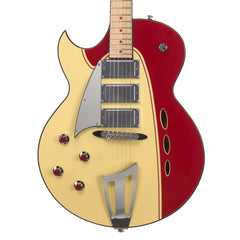Backlund Guitars Rockerbox LEFTY - Red / Creme - Left-Handed Semi Hollow Electric Guitar - NEW!