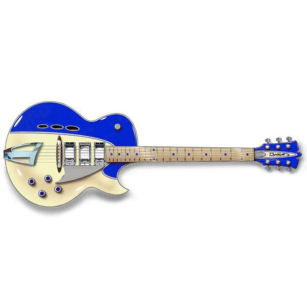 Backlund Guitars Rockerbox - Blue / Creme - Semi Hollow Electric Guitar - NEW!