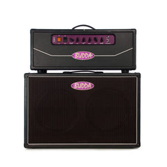 Used Budda Superdrive 80 head and 2x12 cabinet - Matching Half Stack - Tube Guitar Amplifier
