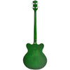 Eastwood Guitars Classic 4 Limited Edition Greenburst Full Back