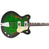 Eastwood Guitars Classic 4 Limited Edition Greenburst Closeup