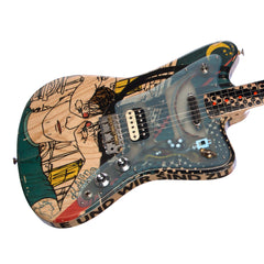 "Deimel Guitarworks Firestar Artist Edition ""Berlin Tonight"" - Offset Electric Guitar with Built-in LesLee effect - NEW!"