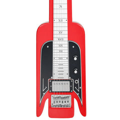 Airline Guitars Lap Steel - Red - Vintage National -inspired Tribute Model - NEW!