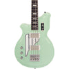 Eastwood Guitars Airline Map Bass 34 Seafoam Green Left Hand Featured