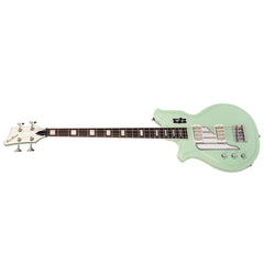 "Airline Guitars MAP Bass LEFTY - Seafoam Green - Left Handed 34"" Scale Electric Bass Guitar - NEW!"