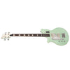Eastwood Guitars Airline Map Bass 34 Seafoam Green Left Hand Angled