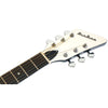 Eastwood Guitars Airline Folkstar Black Headstock
