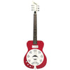 Eastwood Guitars Airline Folkstar Red Left Hand Full Front