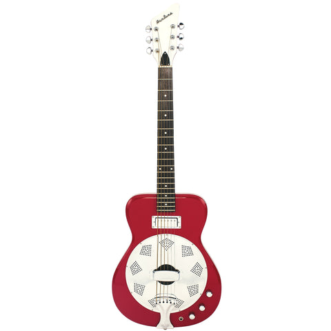 Airline Guitars Folkstar - Red - Electric / Acoustic Resonator Guitar - NEW!