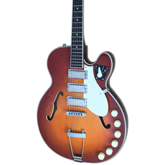 Airline Guitars H59 - Honeyburst - Semi-Hollow Electric Guitar - NEW!