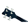 Eastwood Guitars Airline Map Bass 34 Black Head Back