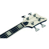 Eastwood Guitars Airline Map Bass 34 Black Headstock