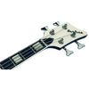 Eastwood Guitars Airline Map Bass Black Headstock
