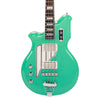 Eastwood Guitars Airline Map Bass Seafoam Green Left Hand Featured