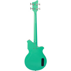 "Airline Guitars MAP Bass LEFTY - Seafoam Green - Left Handed 30 1/2"" Short Scale Electric Bass Guitar - NEW!"