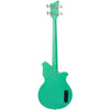 Eastwood Guitars Airline Map Bass Seafoam Green Left Hand Full Back