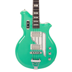 "Airline Guitars MAP Bass - Seafoam Green - 30 1/2"" Short Scale Electric Bass Guitar - NEW!"