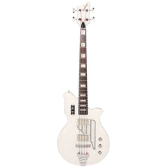 "Airline Guitars MAP Bass - White - 30 1/2"" Short Scale Electric Bass Guitar - NEW!"