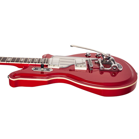 Airline Guitars MAP DLX - Red - Vintage Reissue Electric Guitar - NEW!